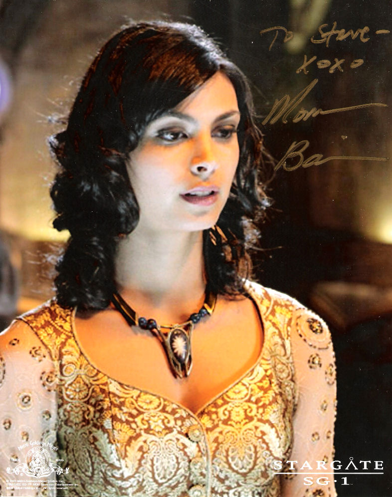 And here is a picture of Morena Baccarin that I mentioned earlier: