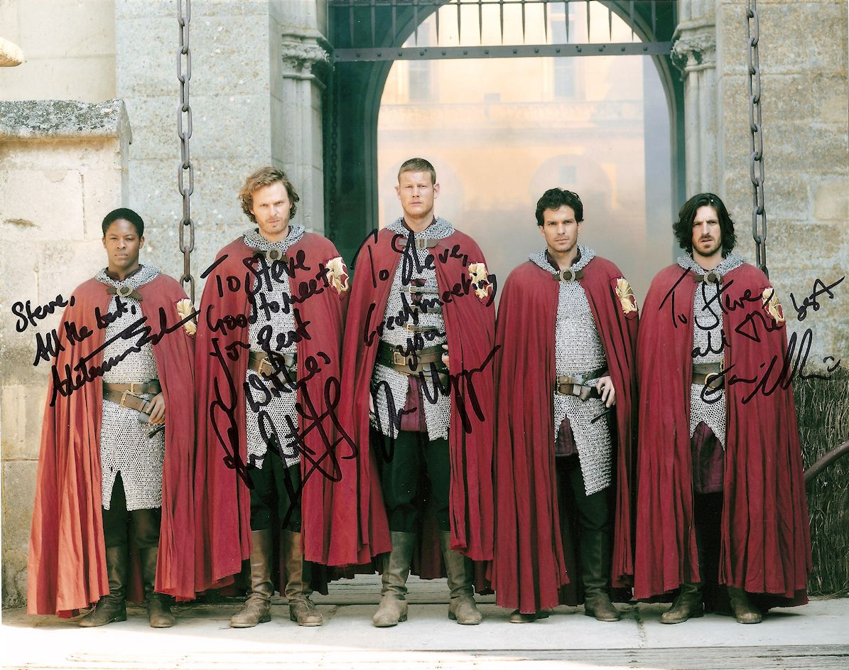 ¿Cuánto mide Rupert Young? - Real height Merlin_knights